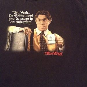 2004 Office Space Tee Shirt